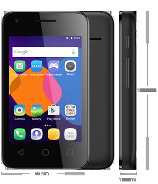 Un smartphone libre Alcatel por sólo 59.90€