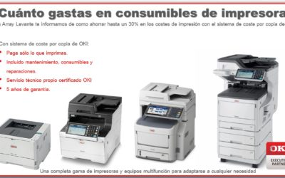 ¿Cúanto gastas en consumibles de impresora?