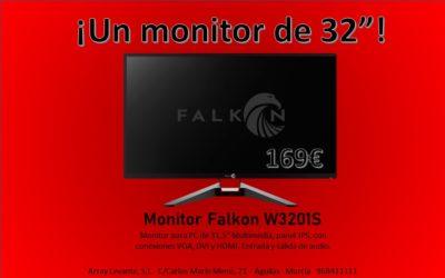 ¡Un monitor de 32″ por 169€!