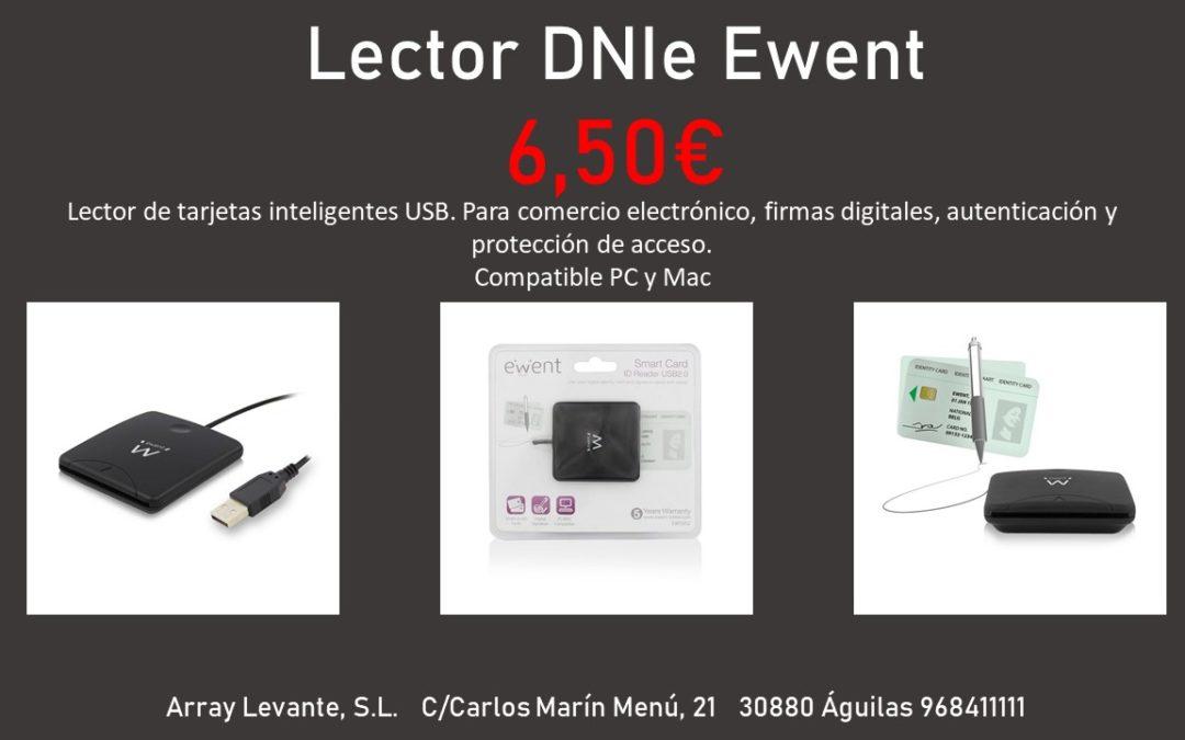 Lector DNI electrónico Ewent. Sólo 6,50€