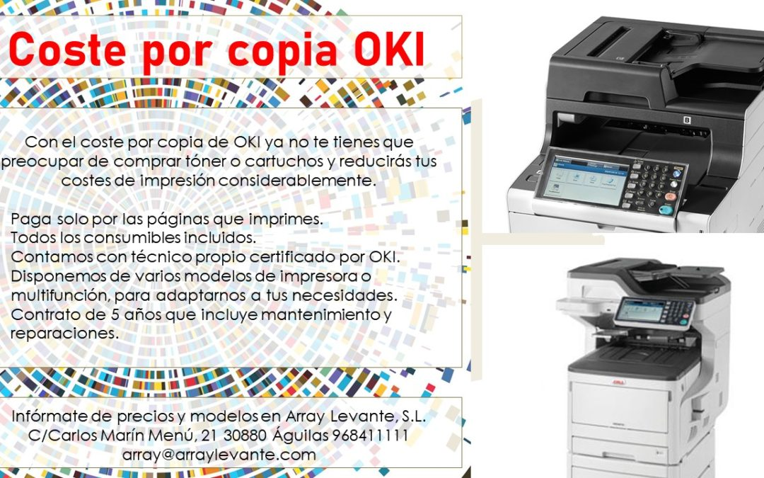 Coste por copia OKI